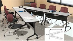 V-Shape Conference Table Package