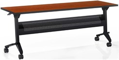 72�W x 18�D Flip-N-Go Table