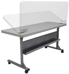 Plastic Flip-N-Store Training Tables