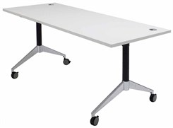"72"" x 28"" Flip Top Training Table"