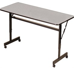 "Econoline Flip Top Training Tables - 24"" x 48"" Flip Top Table"