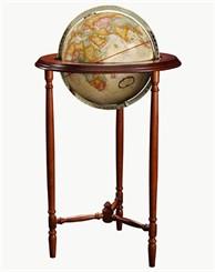 "12"" Saratoga Floor Globe"