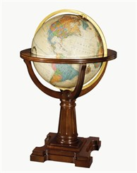 "20"" Illuminated Annapolis Floor Globe"
