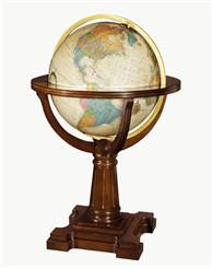 """20"""" Illuminated Annapolis Floor Globe"""