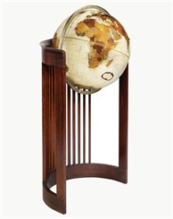 "Frank Lloyd Wright® 16"" Barrel Floor Globe"