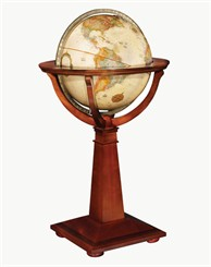 16&quot; Logan Floor Globe