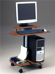 Flat Panel Display Computer Table