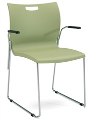Flexi Stack Chair with Arms