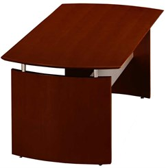 "72""W Floating Top Executive Desk"