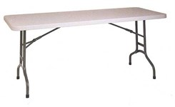 6' Folding Resin Multi Purpose Table - Other Sizes Available.