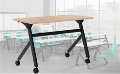 Folding Top Mobile Training Tables