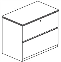 Freestanding Lateral File