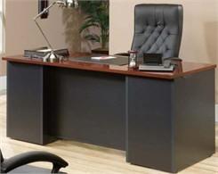 "Via 72"" Straight Front Desk Shell"