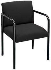 Full Back Guest Chair 4 Post in Standard Fabric or Vinyl