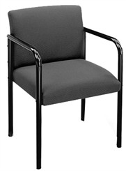 Sheffield Full Back 4-Leg Guest Chair in Upgrade Fabric/HealthcareVinyl