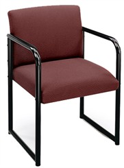 Full Back Guest Chair in Standard Fabric or Vinyl