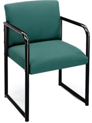 Full Back Guest Chair in Upgrade Fabric or Healthcare Vinyl