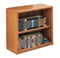 "Oak Bookcases -- 29""H Bookcase"