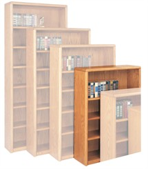 "Genuine Oak Bookcases -- 29""H Bookcase"