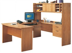 Genuine Oak U-Shaped Workcenter