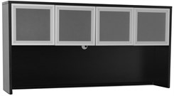 Black Glass Door Hutch