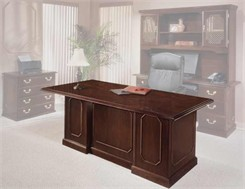 Governor's Mahogany Executive Desk Collection