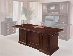 Governor's Mahogany Executive Desk Collection