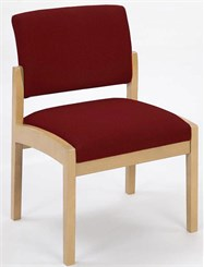 Guest Chair/Armless in Upgrade Fabric or Healthcare Vinyl