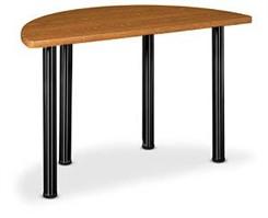"60""W x 30""D Half-Round Table"