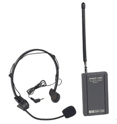 VHF Wireless Headset Mic Kit