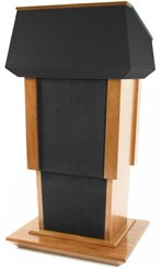Height Adjustable Presidential Podium w/ Evolution Sound System