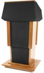 Height Adjustable Presidential Podium w/ Evolution Sound System