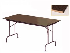 "24"" x 60"" Heavy-Duty Plywood Core Folding Table - Other Sizes Available."