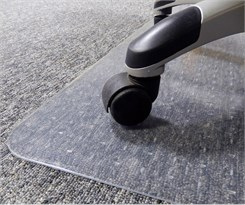 "Low Pile Carpet .145"" Thick Chair Mats - 36"" x 48"" - Other Sizes Available"