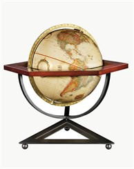 "Frank Lloyd Wright® 12"" Hexagon Desk Globe"