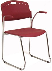 Hi-Tech Stack Chair w/ Comfort Arms