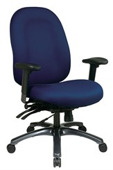 High Back Fully Adjustable Chair with Seat Slider