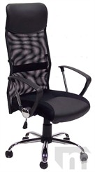 High Back Chrome Frame Mesh Managerial/Conference Chair