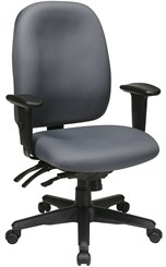 High Back Multi Function Office Chair w/ Ratchet Back