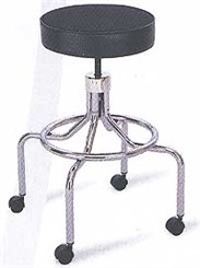 High Rise Manual Height Adjust Stool