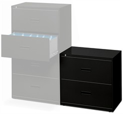 Hon Files - 30&quot;W Locking 2-Drawer
