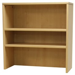 Maple Lateral File/Storage Cabinet Bookcase Hutch