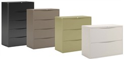 In Stock Lateral Files in 4 Colors!