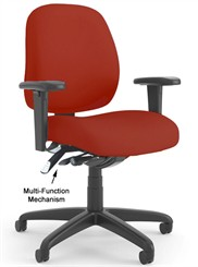 Intensive-Use Multi-Function Mid Back Chair