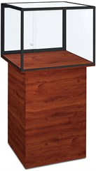 Island Pedestal Display Case