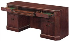 Kneehole Credenza w/o Return Mouldings