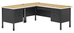 L-Desk w/ Left Return