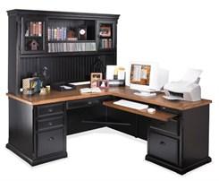 Southampton Americana Series - L-Desk w/Hutch