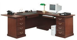 Heritage Hill L-Shaped Desk
