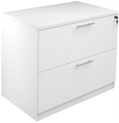 White Office Lateral File